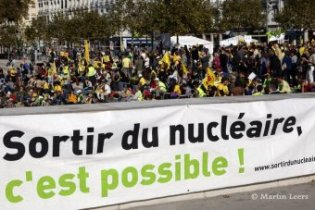 Manifestation Sortir du nucléaire Lyon