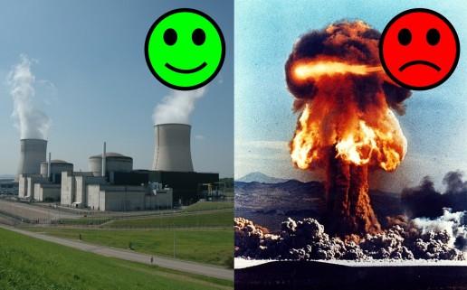 Bombe et centrale smileys